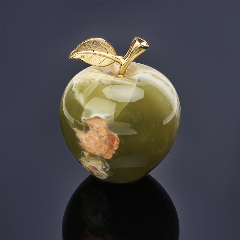 Яблоко оникс мраморный 7,5х9 см