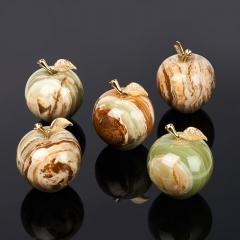 Яблоко оникс мраморный Пакистан 7,5х9 см