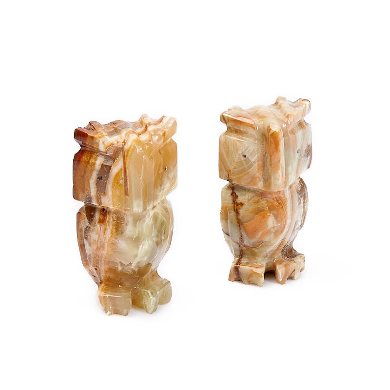 Сова оникс мраморный 8 см