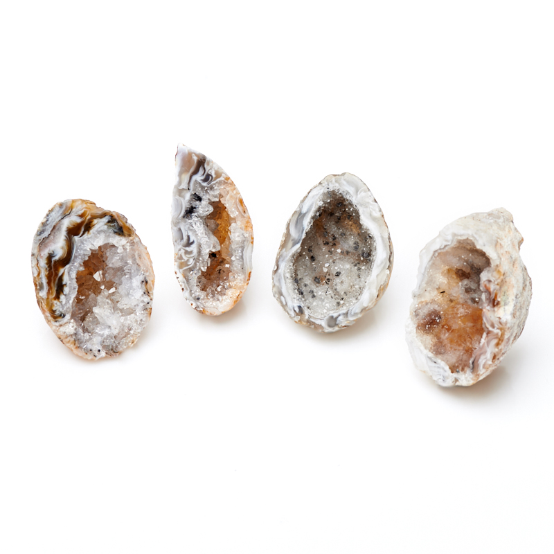 Жеода агат серый (3-4 см) 1 шт