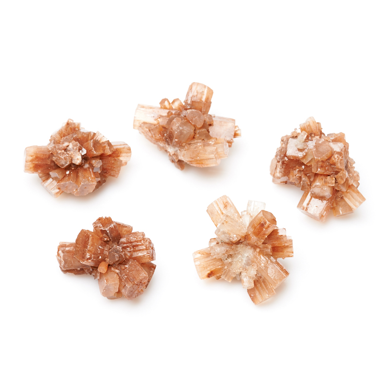 Друза арагонит оранжевый (3-4 см) 1 шт браслет арагонит белый 15 см