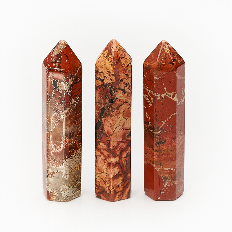 Кристалл яшма красная (6 см) 1 шт