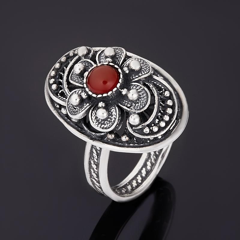 Кольцо сердолик (серебро 925 пр.) размер 18,5 кольцо сердолик серебро 925 пр размер 20