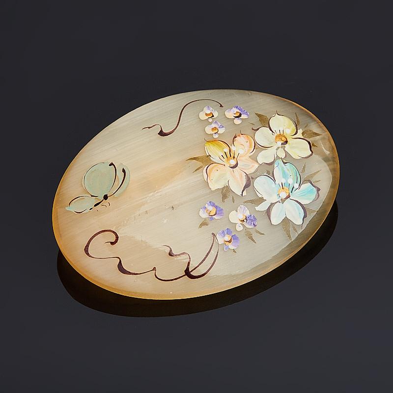 Фото - Брошь селенит (биж. сплав) 5,5 см брошь три птицы бижутерный сплав полихромные эмали австрийские кристаллы