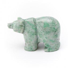 Медведь жадеит Россия 7,5 см