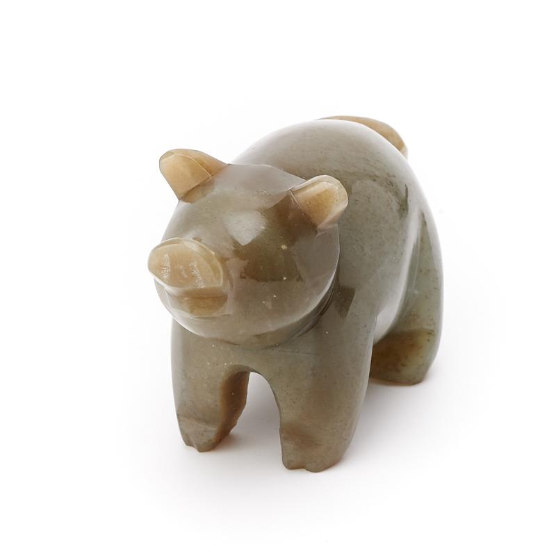 Свинка нефрит Россия 7,5 см