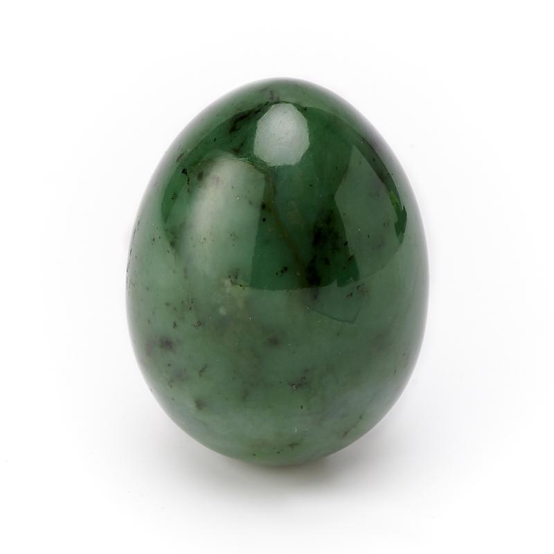 Яйцо нефрит зеленый 6 см яйцо змеевик 6 см