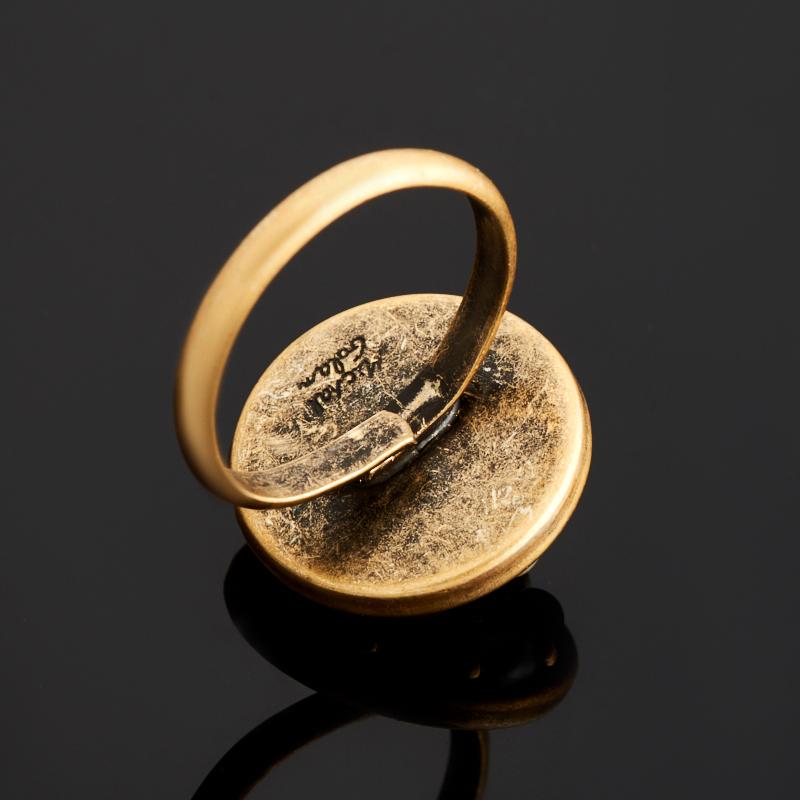 Кольцо аметист (латунь) (регулируемый) размер 17