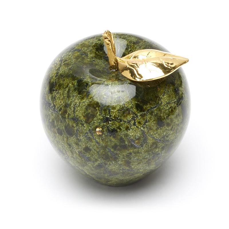Яблоко змеевик 7х8 см цена