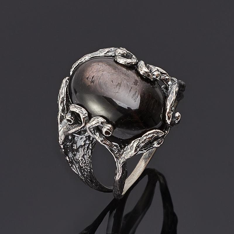 Кольцо гиперстен Канада (серебро 925 пр.) размер 18