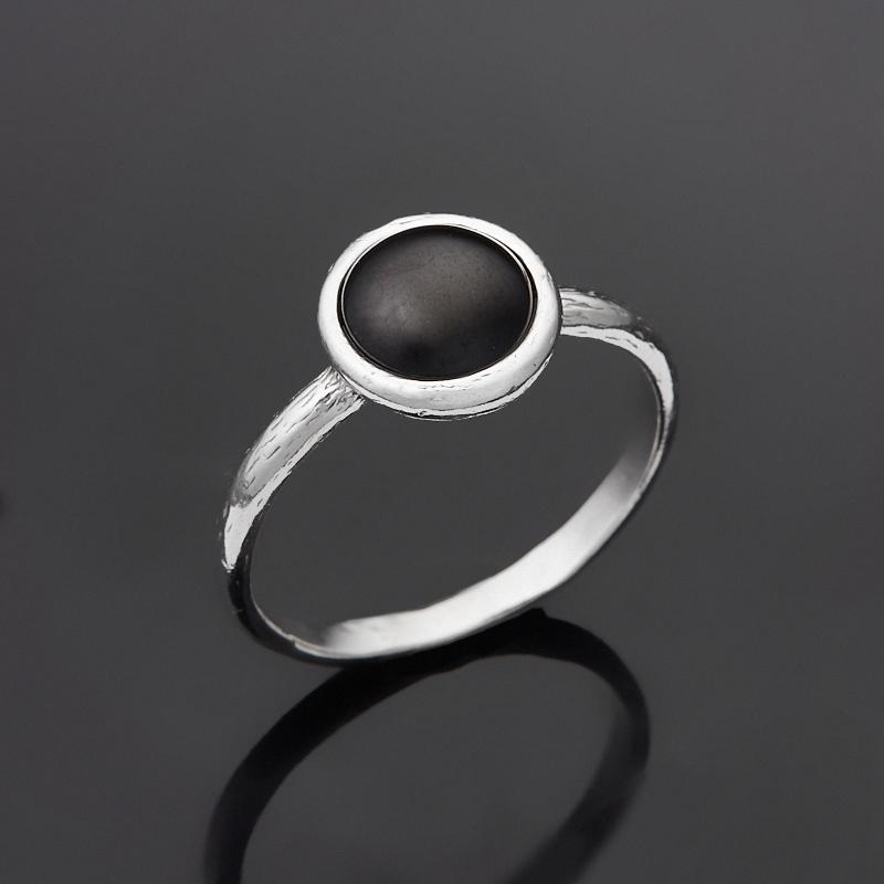 Кольцо янтарь (серебро 925 пр.) размер 17,5