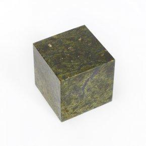 Куб змеевик Россия 6 см