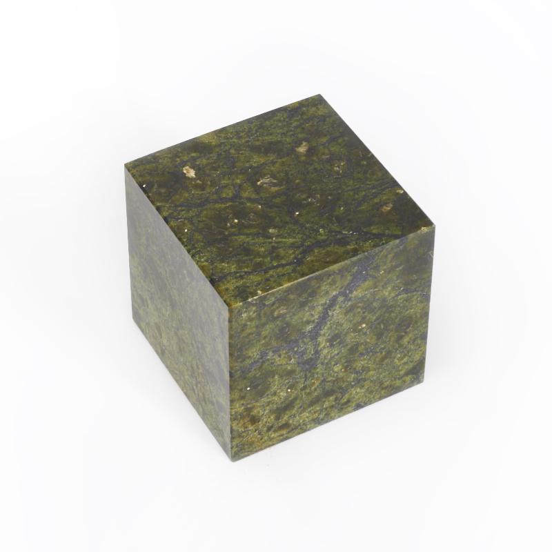 Куб змеевик 6 см яйцо змеевик 6 см