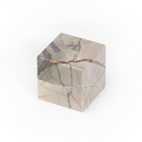 Куб яшма мраморная Россия 3 см
