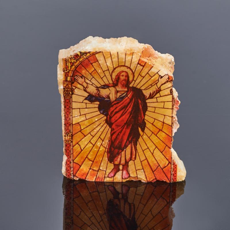 Изборажение Иисус Христос селенит 4,5-6 см