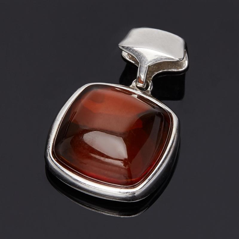 Кулон янтарь квадрат (серебро 925 пр.) кулон янтарь серебро 925 пр