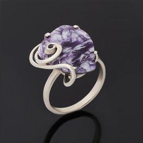 Кольцо лепидолит (дублет) Россия (нейзильбер) размер 18