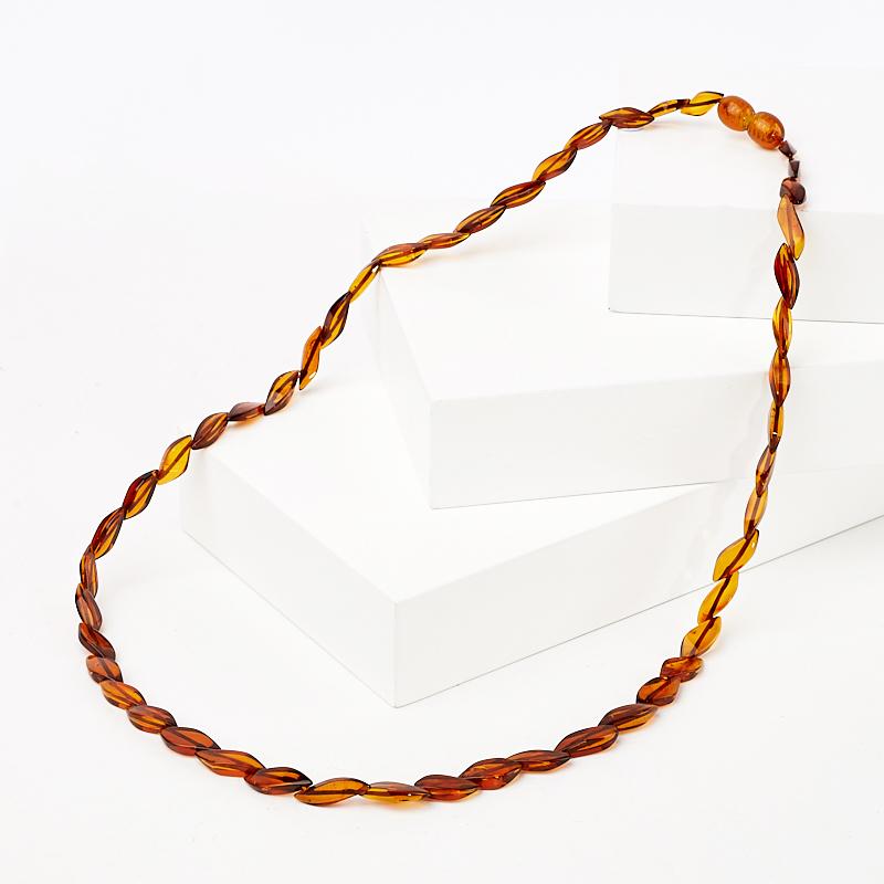 Бусы янтарь пресс 50 см браслет янтарь пресс 5 мм 17 см