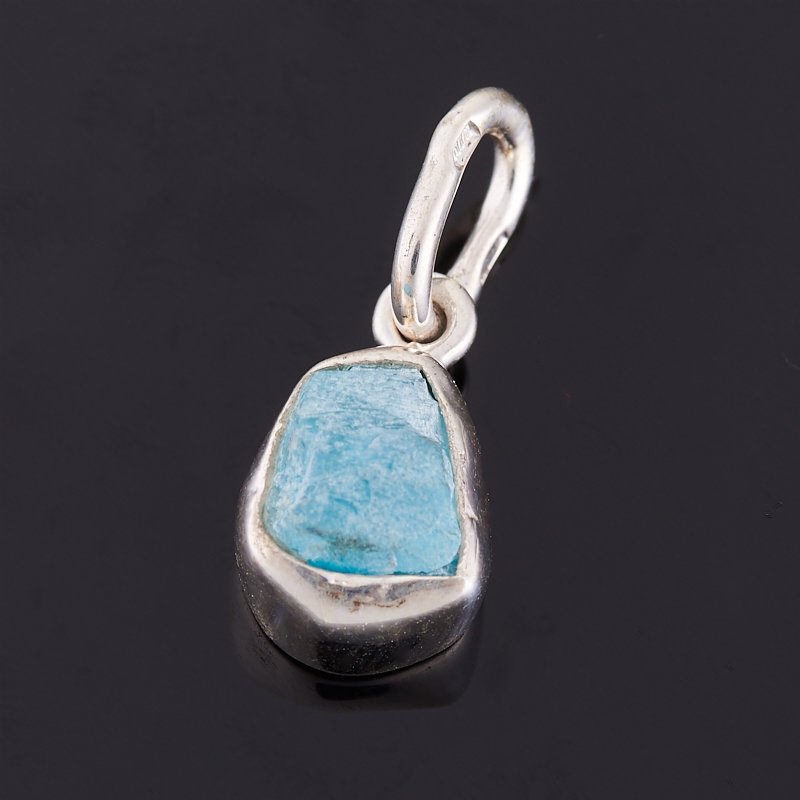Кулон апатит (серебро 925 пр.) yoursfs ® 925 серебро клевер кулон ожерелье моды серебряные украшения