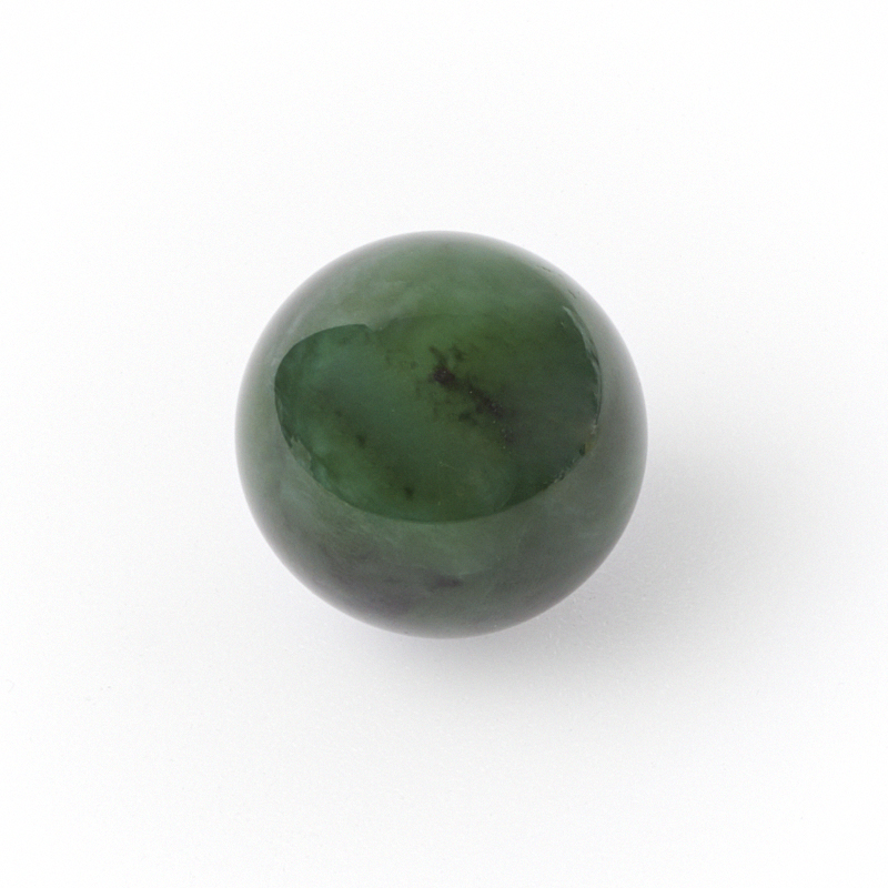 Шар нефрит зеленый 2,5-3 см