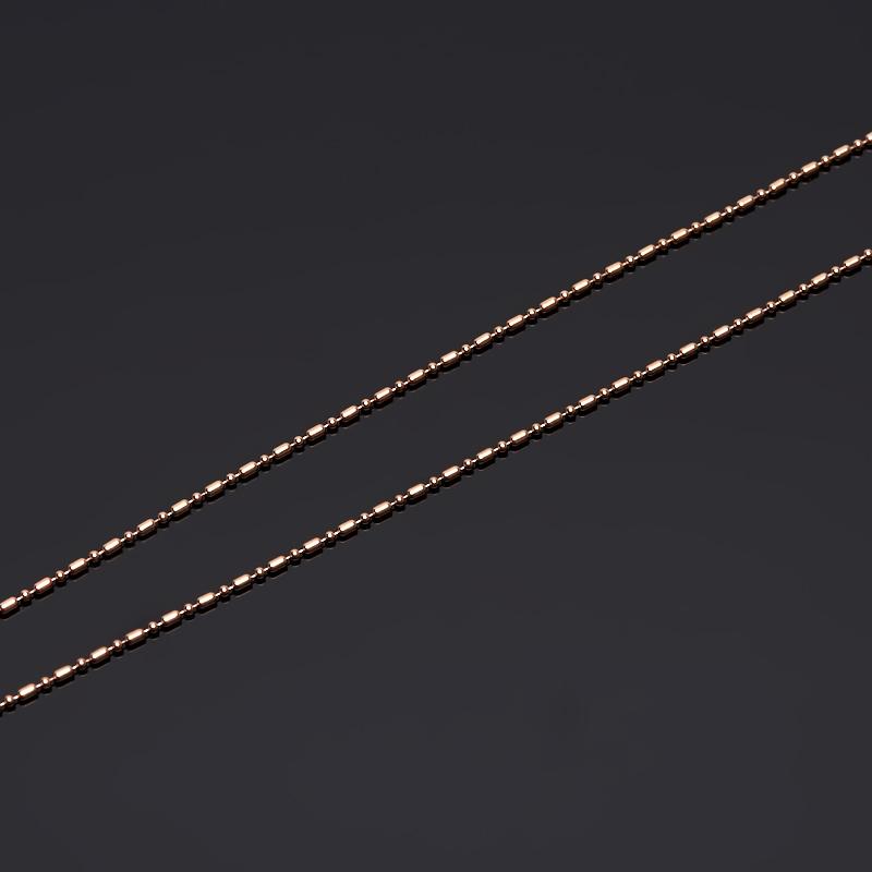 Цепь полновесная 50 см (серебро 925 пр., позолота)