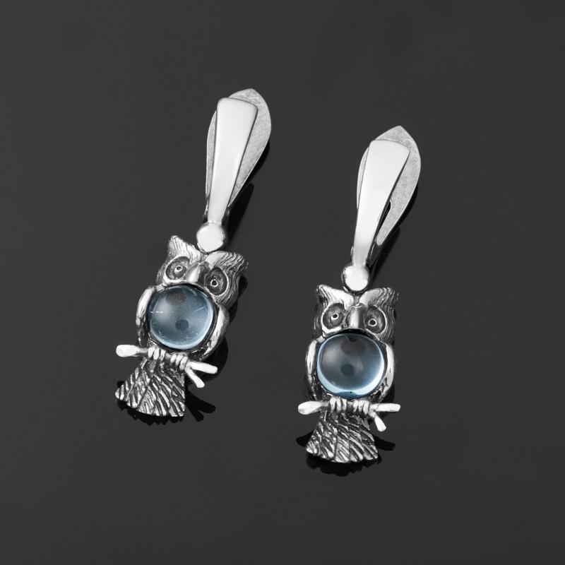 Серьги топаз голубой (серебро 925 пр.) серьги коюз топаз серьги т142026393