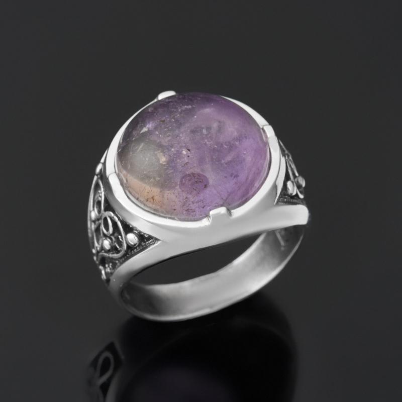 Кольцо аметрин (серебро 925 пр.) размер 18