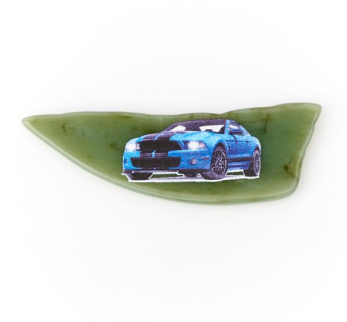 Магнит нефрит зеленый 5,5-7 см