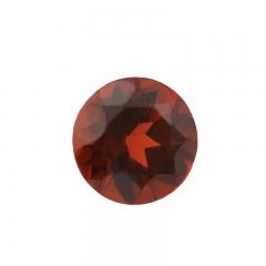 Огранка гранат альмандин Индия круглая (1 шт) 3 мм