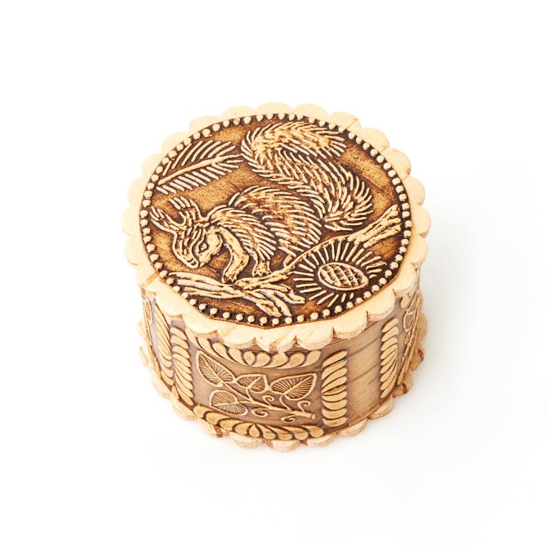 Шкатулка для хранения украшений 4,5х3 см шкатулка для украшений moretto 18 13 5 см коричневый