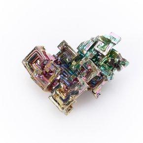 Кристалл висмут лабораторный Германия (3-3,5 см) 1 шт
