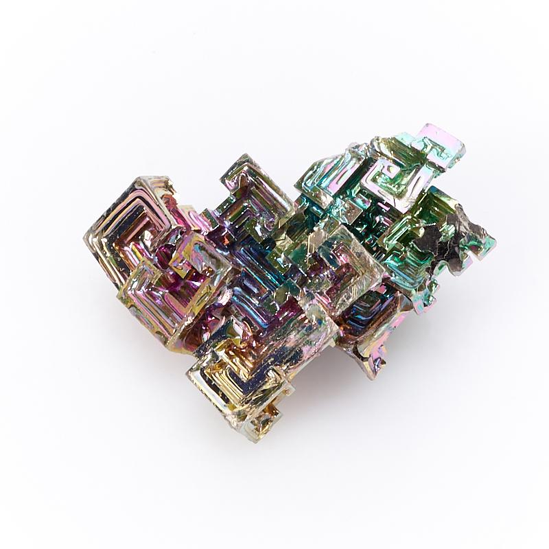Кристалл висмут лабораторный  (3-3,5 см) 1 шт