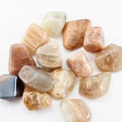 Галтовка лунный камень Индия (1-1,5 см) (1 шт)