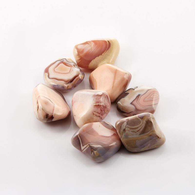 Галтовка агат розовый Ботсвана (1-1,5 см) 1 шт
