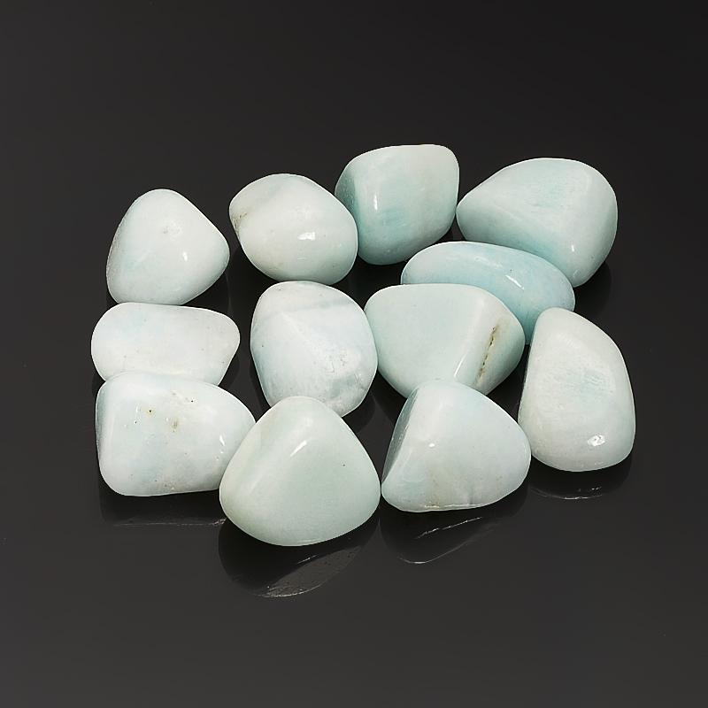 Галтовка Арагонит голубой Китай (1,5-2 см) 1 шт
