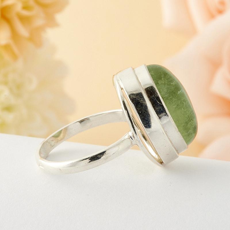 [del] Кольцо берилл Россия (серебро)  размер 16,5