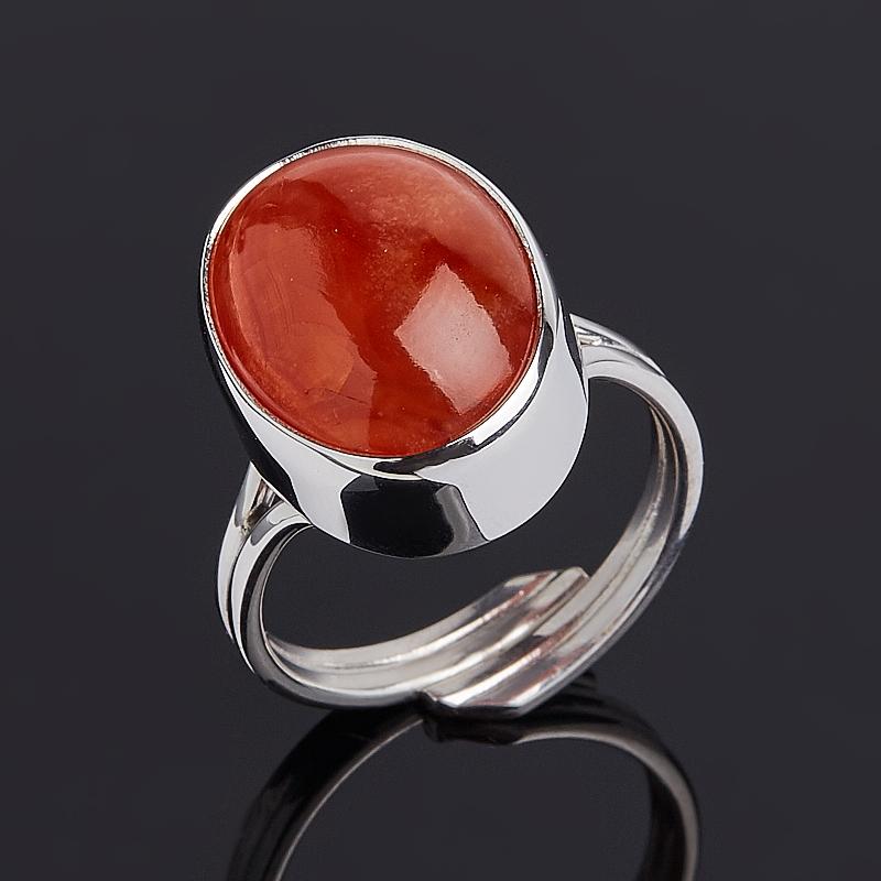 Кольцо сердолик (серебро 925 пр.) размер регулируемый кольцо сердолик серебро 925 пр размер 16 5