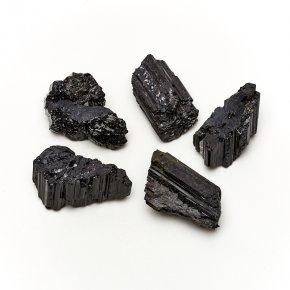 Кристалл турмалин черный (шерл) Бразилия (4-5 см) 1 шт