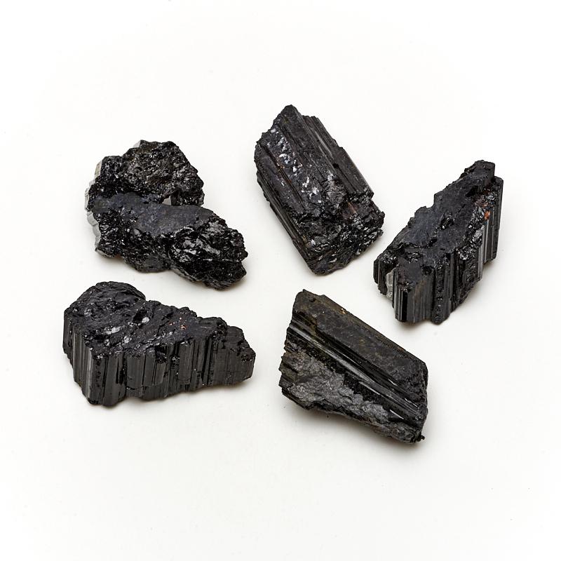 Кристалл турмалин черный (шерл) (4-5 см) 1 шт