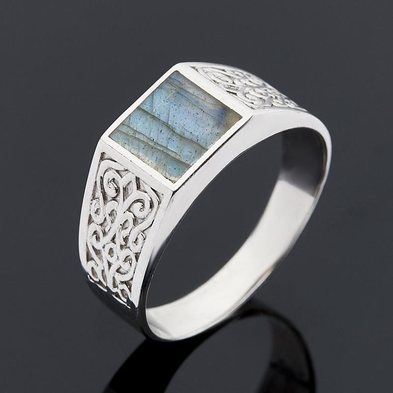 Кольцо лабрадор (серебро 925 пр.) размер 21