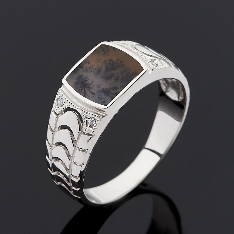 Фото - Кольцо агат пейзажный (серебро 925 пр.) размер 21 кольцо агат серый серебро 925 пр размер 21 5