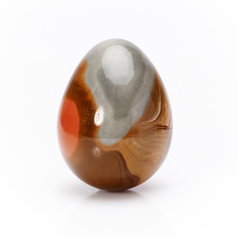 Яйцо яшма пестроцветная 6 см яйцо змеевик 6 см