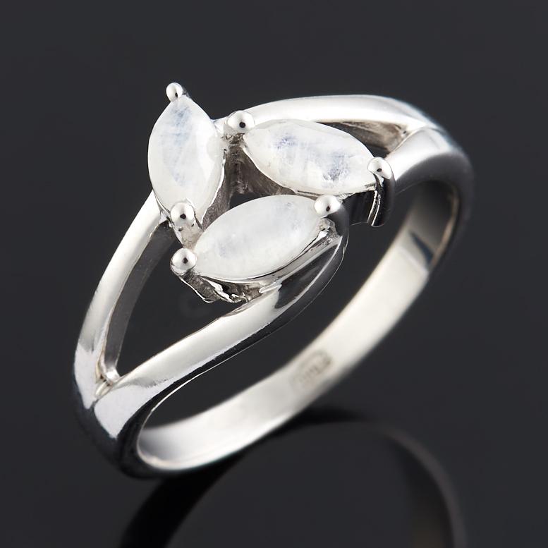 Кольцо лунный камень огранка (серебро 925 пр.) размер 17,5 ar535 925 чистое серебро кольцо 925 серебро ювелирные изделия кокосовый орех вал инкрустированные красный камень bdbajuia dsyamkfa