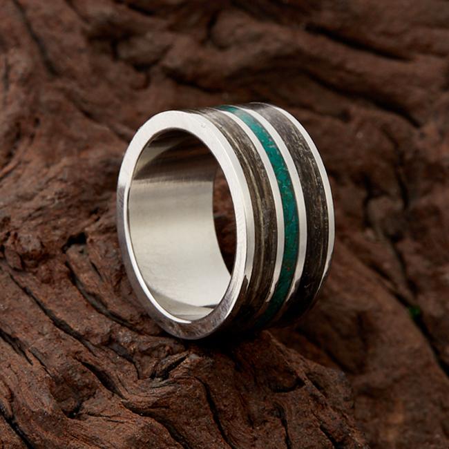 Кольцо малахит размер 17,5