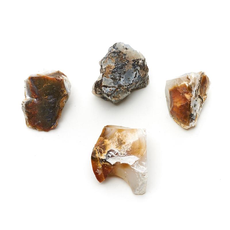 Образец опал белый (2,5-3 см) (1 шт) образец опал благородный белый 1 1 5 см