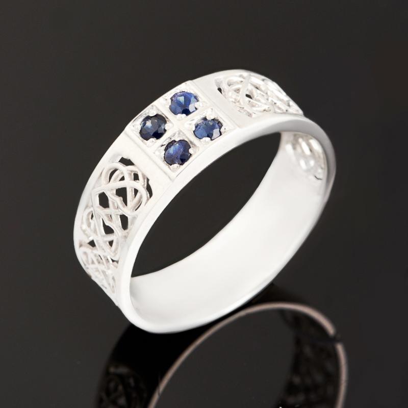 Кольцо сапфир черный огранка (серебро 925 пр.) размер 20 кольцо сапфир черный огранка серебро 925 пр размер 18