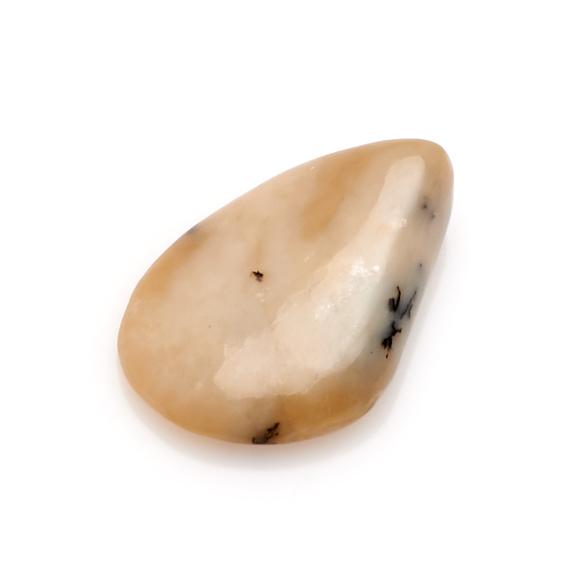 Галтовка Нефрит белый Россия (2,5-3 см) 1 шт