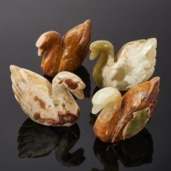 Лебедь оникс мраморный Пакистан 10,5 см