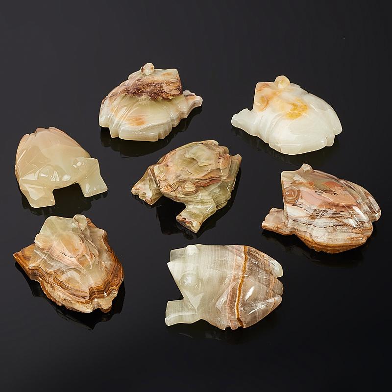 Лягушка оникс мраморный 8-9 см груша оникс мраморный 9 см