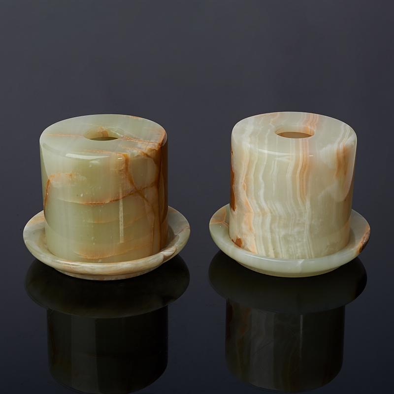 Подсвечник закрытый оникс мраморный 7х7 см ступка оникс мраморный 7х7 5 см